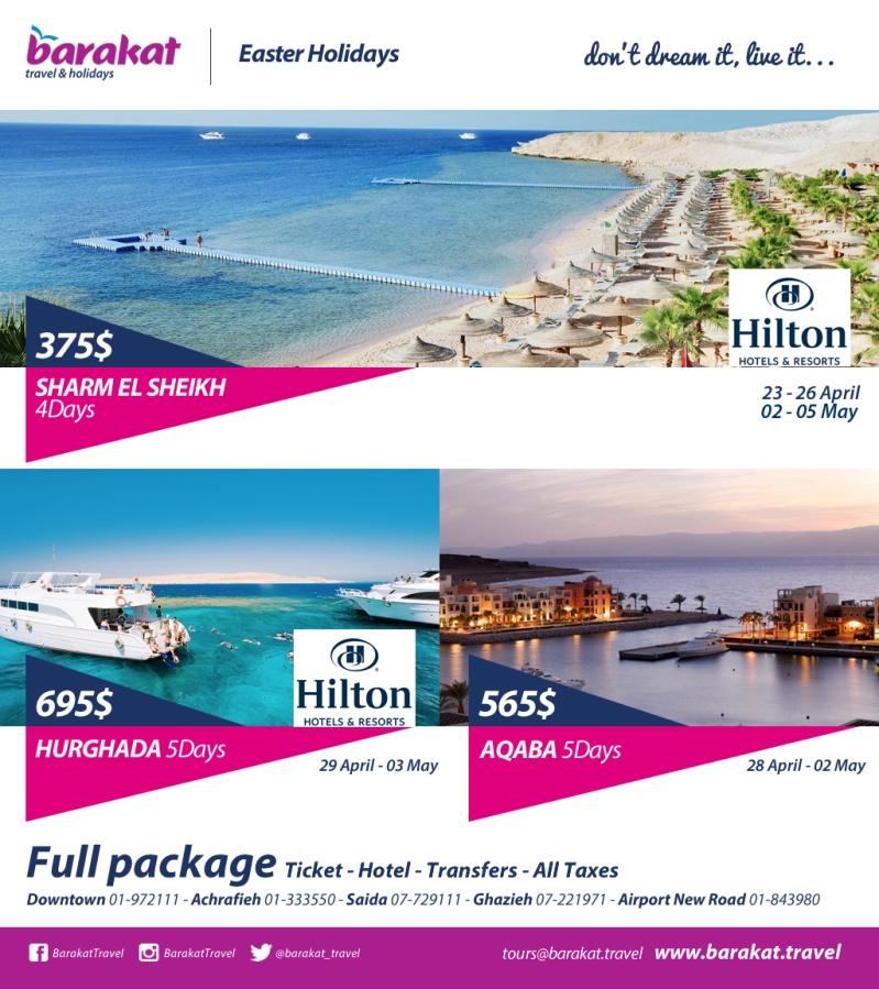 Barakat Travel Agency Lebanon